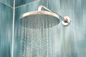 onder de douche